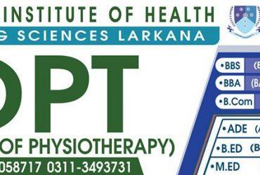Larkana Institute Of Health & Emerging Sciences Larkana