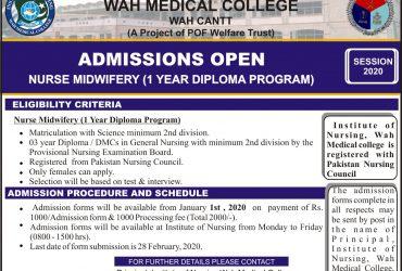 Institute of Nursing – Wah Medical College