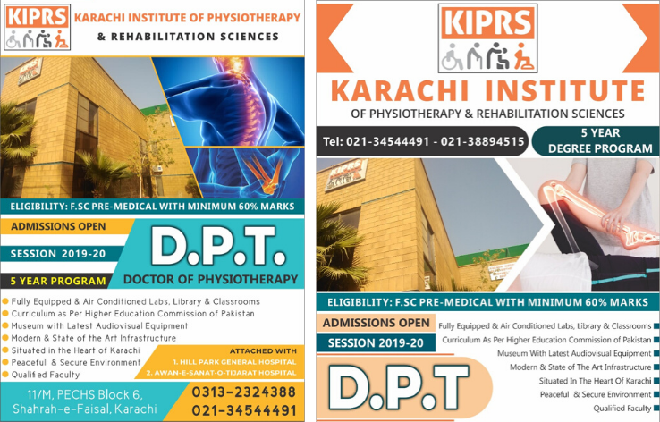 KIPRS Karachi Institute if Physical therapy & Rehabilitation sciences