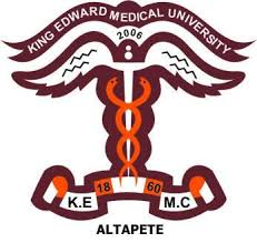 King Edward Medical University ALLIED VISION SCIENCES PROGRAMS