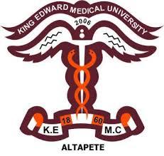 King Edward Medical University DIPLOMA PROGRAMS