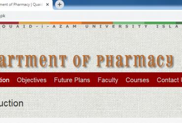 Private: Quaid-i-Azam University