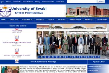 University of Swabi Khyber Pakhtunkhwa