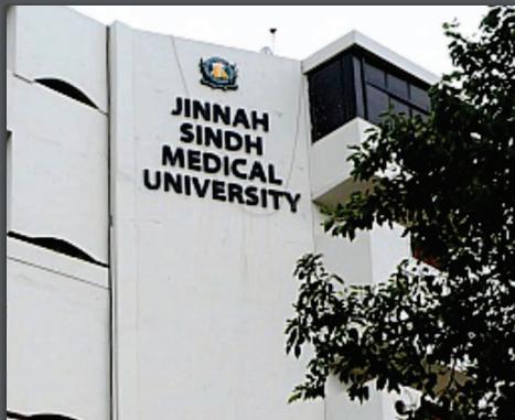 jinnah sindh medical university karachi (DPT)