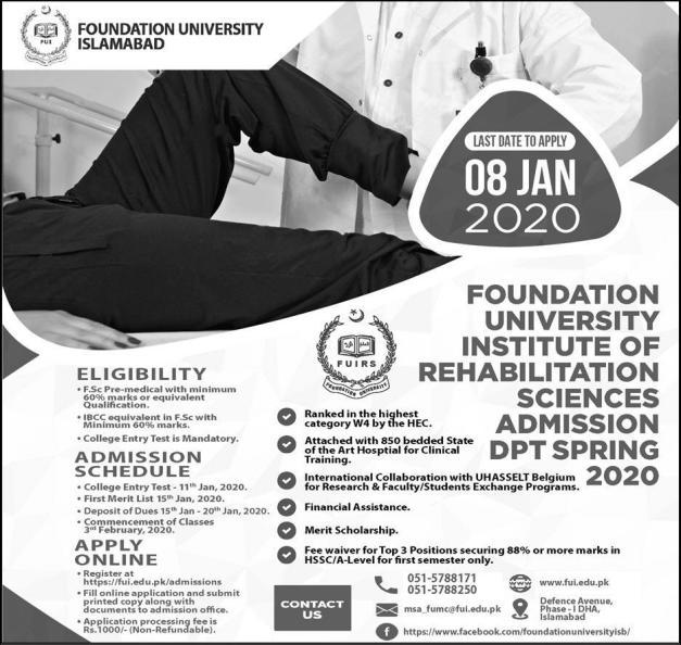 Foundation University, Rawalpindi