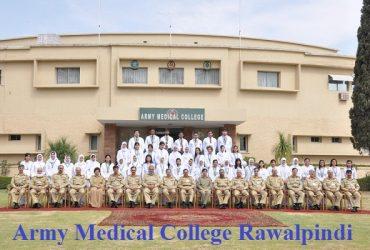 Army Medical College, Rawalpindi Post Graduate admissions