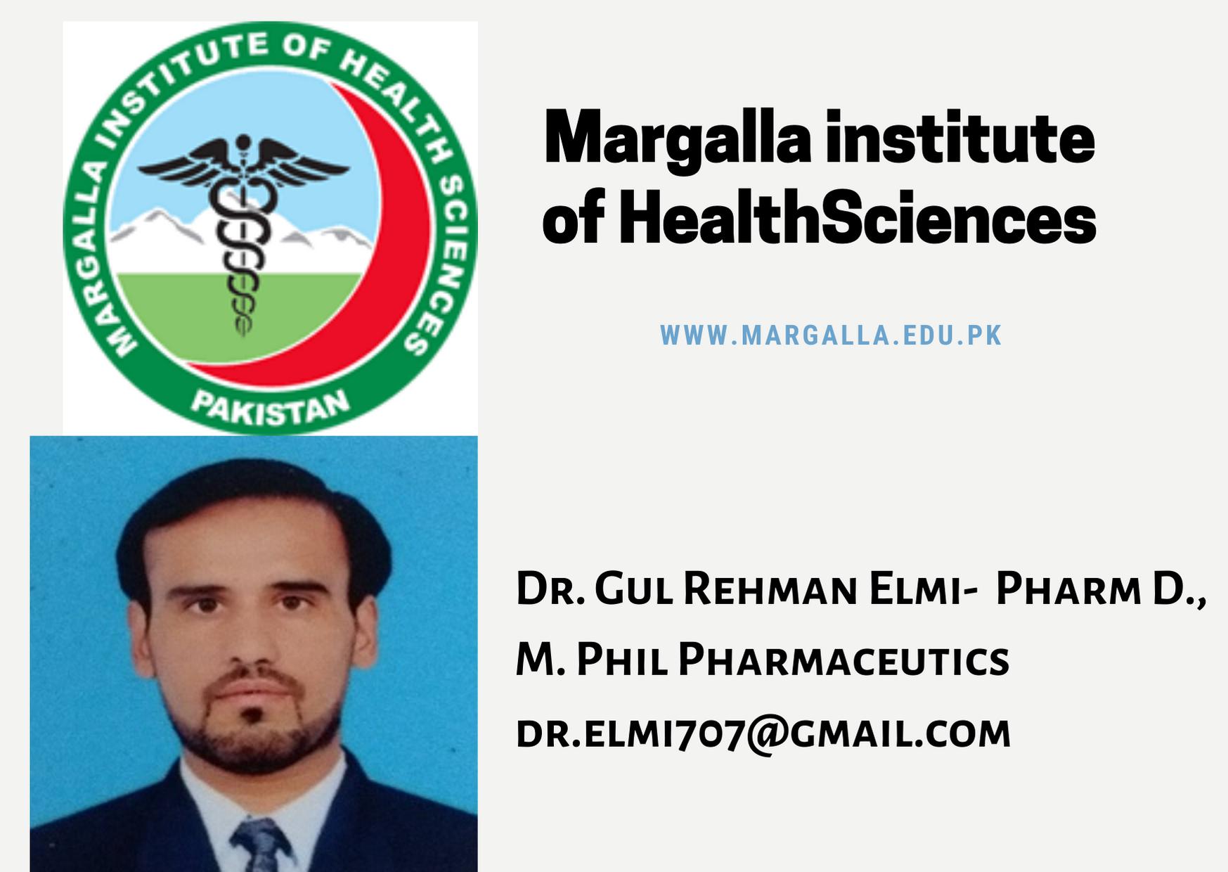 Dr. Gul Rehman Elmi talking about MIHS