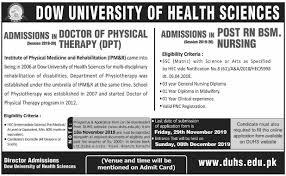 Dow University of Health Sciences, Karachi