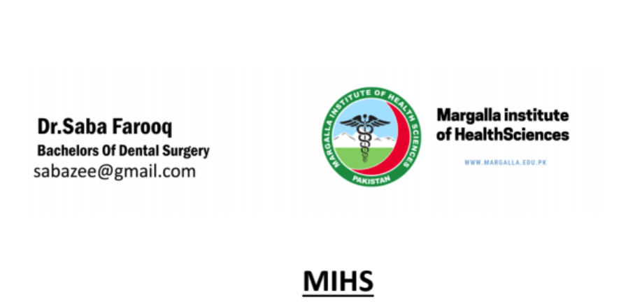 Dr. Saba Farooq about MIHS