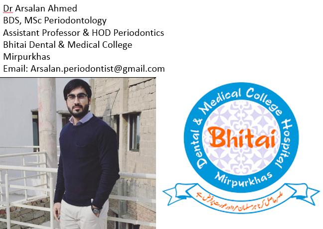 BDMC by Dr Arsalan Ahmed