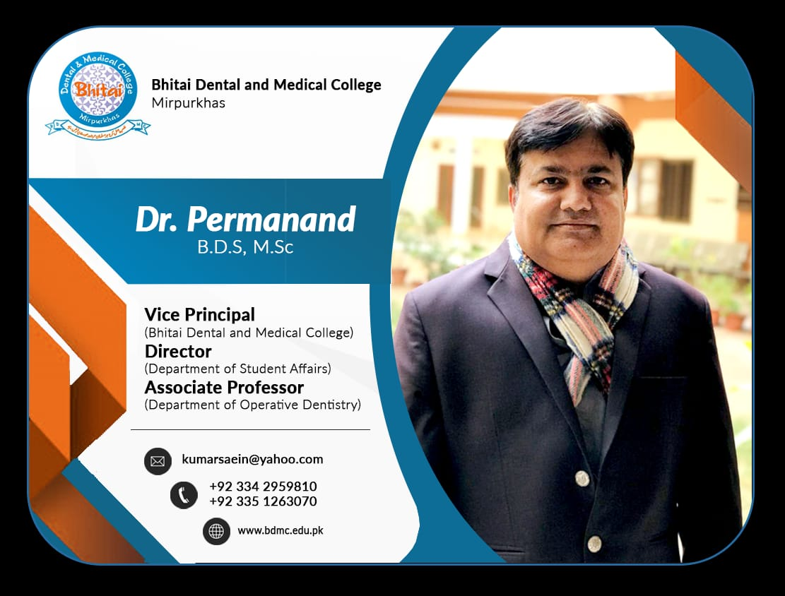 Dr. Permanad about BDMC