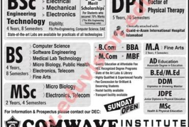 Comwave Institute Of Information Technology (Sarhad university)