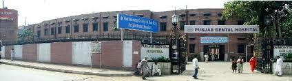Punjab Dental Hospital MDS courses