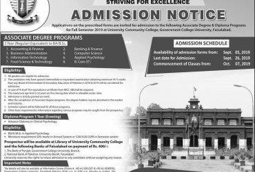 Faculty of Pharmacy The University of Faisalabad, Faisalabad.