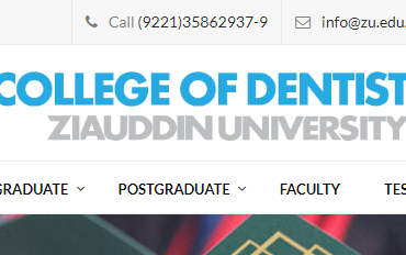 Ziauddin Dental College, karachi