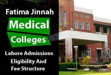 Fatima Jinnah Medical College for Women, Lahore