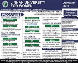 Jinnah University for Women, Karachi