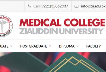 Ziauddin Medical College karachi