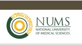 BDS National university of medical Sciences
