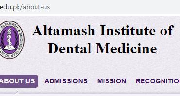 Altamash Institute of Dental Medicine, karachi