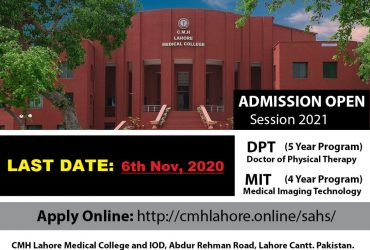 DPT (Doctor of Physical Therapy) & MIT (Medical Imaging Technology
