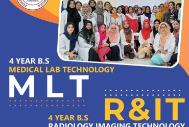 Admissions Open in BS- Medical Lab Technology(MLT)
